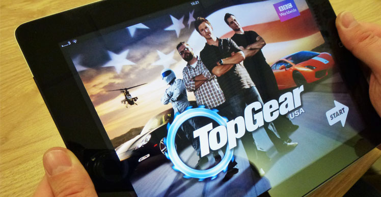 The Top Gear multi platform presentation -